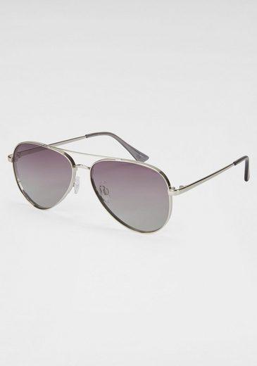 HIS Eyewear Sonnenbrille Pilot-Form