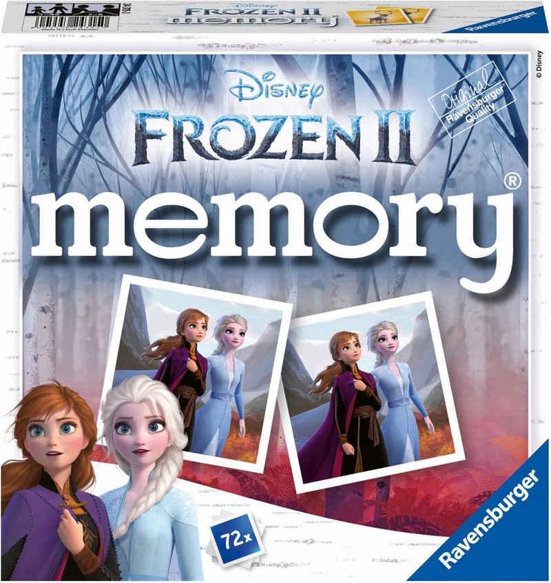 Ravensburger Spiel, »Frozen II memory®«, Made in Europe, FSC® - schützt Wald - weltweit