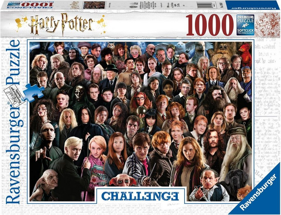 Ravensburger Puzzle »Harry Potter«, 1000 Puzzleteile, Made in Germany