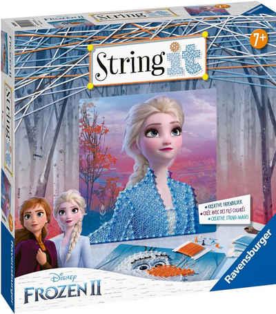 Ravensburger Kreativset »String it Midi Disney Frozen II«, (Set), Made in Europe