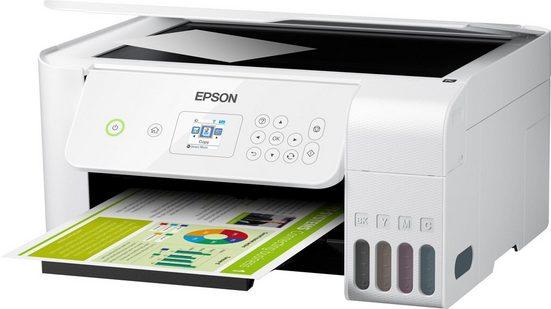 Epson EcoTank ET-2726 Tintenstrahldrucker, (WLAN (Wi-Fi)