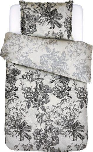 Wendebettwäsche »Vivienne«, Essenza, mit romantischen, detailliert gezeichneten Blüten