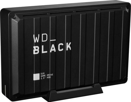 "WD_Black »D10 Game Drive« HDD-Festplatte 3,5"" (8 TB) 250 MB/S Lesegeschwindigkeit)"