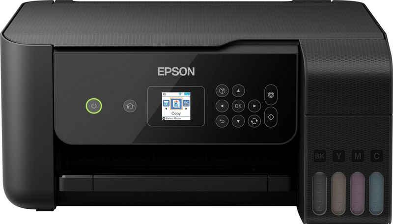 Epson EcoTank ET-2720 Tintenstrahldrucker, (WLAN (Wi-Fi)