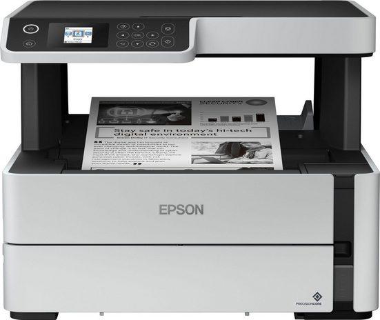 Epson EcoTank ET-M2170 Multifunktionsdrucker, (LAN (Ethernet), WLAN (Wi-Fi)