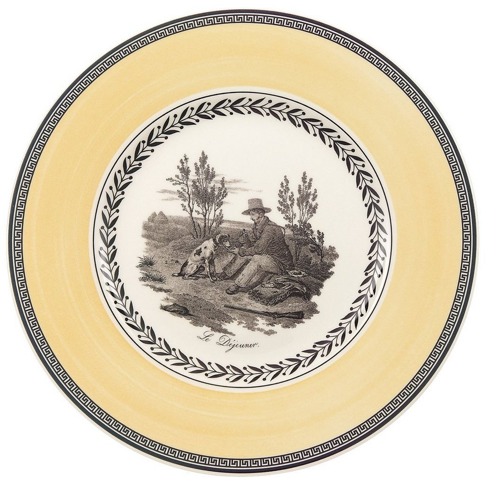 VILLEROY & BOCH Frühstücksteller »Audun Chasse« in Dekoriert