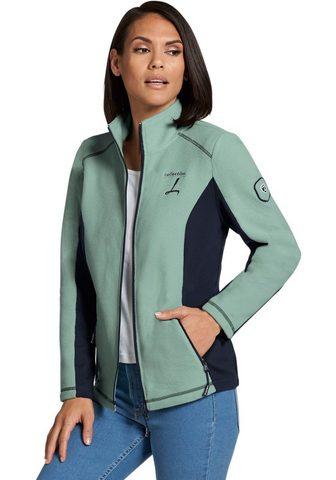 CASUAL LOOKS Флисовая куртка с эластичный Kontraste...