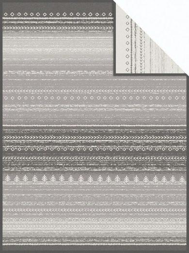 Wohndecke »Brekstad«, IBENA, mit wertigem Gabbee-Muster
