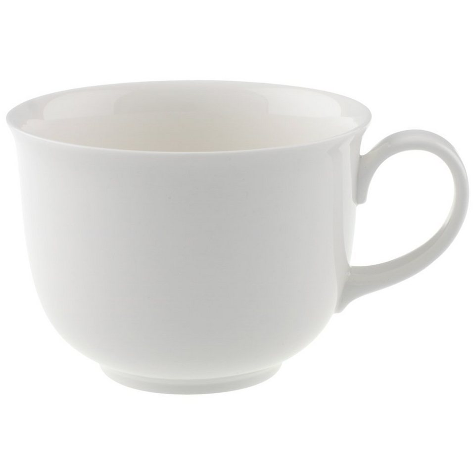 VILLEROY & BOCH Kaffee-/Teeobertasse »Home Elements« in Weiss
