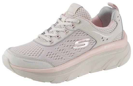 Skechers »D´Lux Walker« Sneaker mit Relaxed Fit-Ausstattung