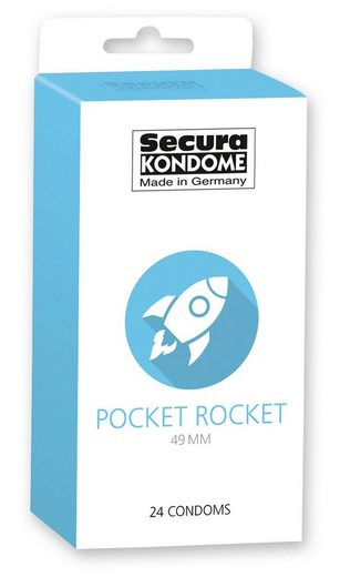 Secura Kondome »Pocket Rocket«