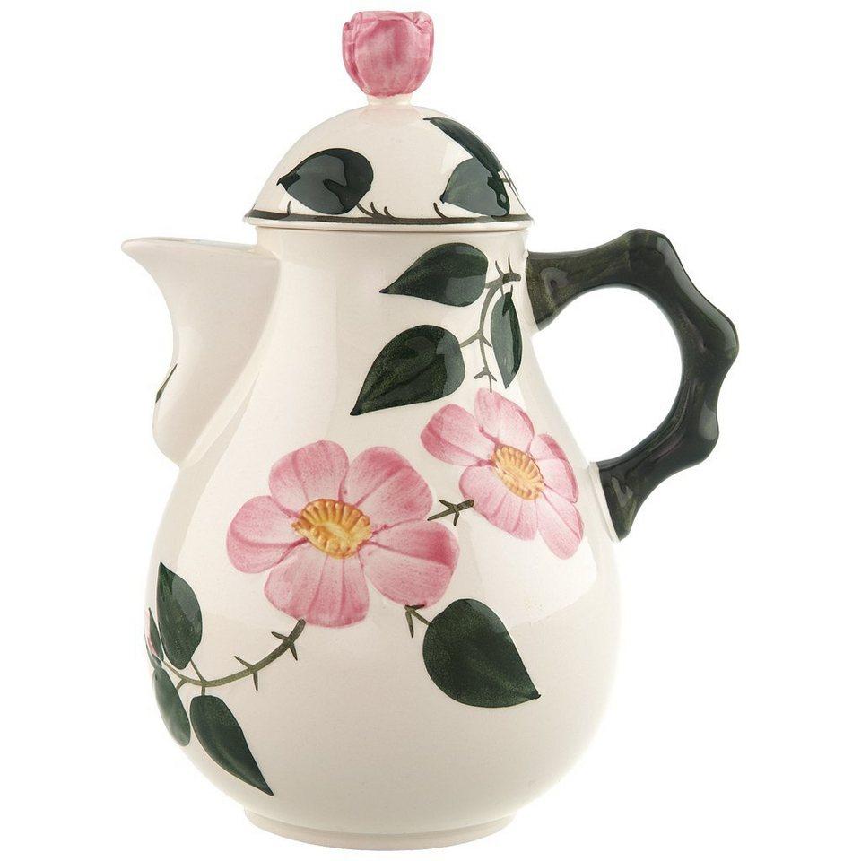 VILLEROY & BOCH Kaffeekanne 6 Pers. »Wildrose« in Dekoriert