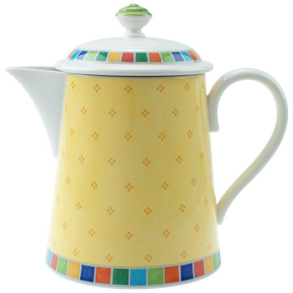 VILLEROY & BOCH Kaffeekanne 6 Pers. »Twist Alea Limone« in Dekoriert
