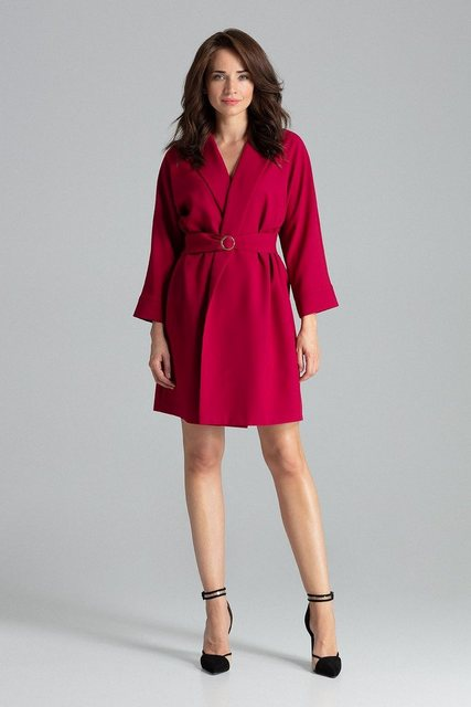 LENITIF Kleid im Mantel-Stil