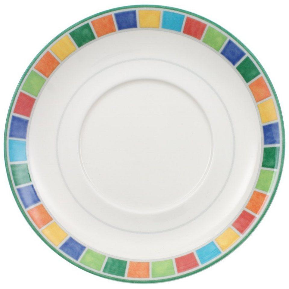VILLEROY & BOCH Frühstücksuntertasse »Twist Alea Limone« in Dekoriert