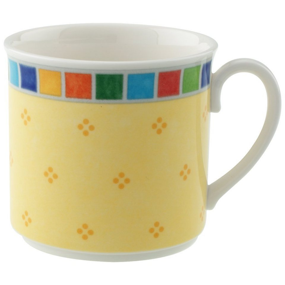VILLEROY & BOCH Kaffee-/Teeobertasse »Twist Alea Limone« in Dekoriert