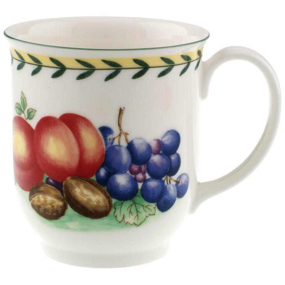 VILLEROY & BOCH Becher mit Henkel »French Garden Fleurence« in Dekoriert