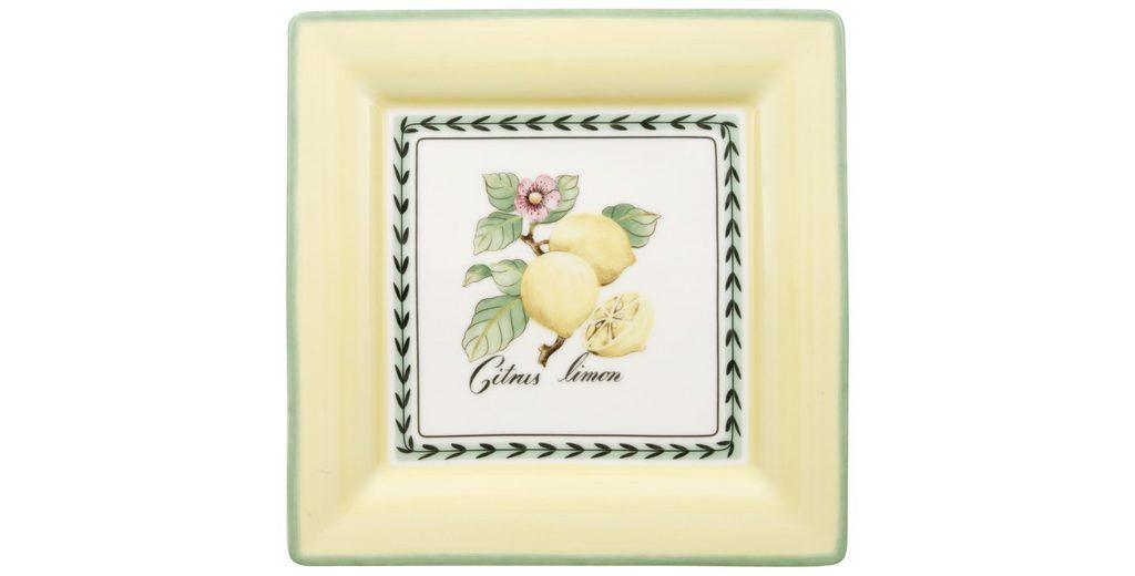 VILLEROY & BOCH Speiseteller Quadrat 27cm »French Garden Macon«