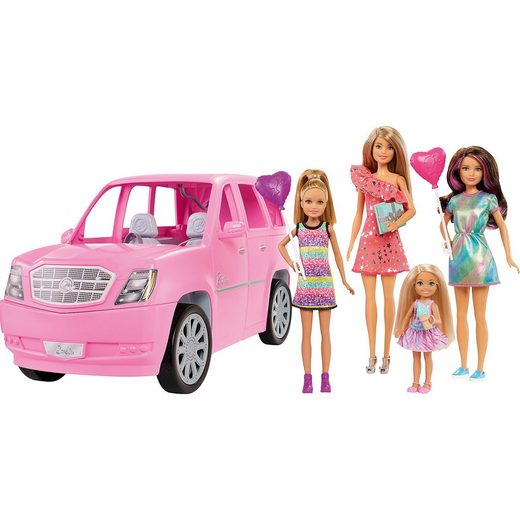 Mattel® Barbie Puppen & Fahrzeug