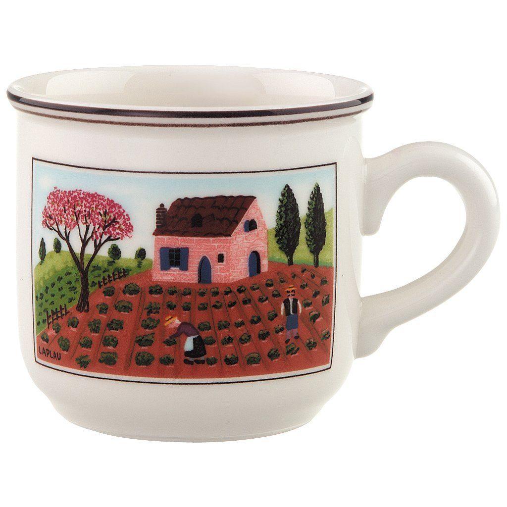 Villeroy & Boch Kaffeeobertasse »Design Naif«