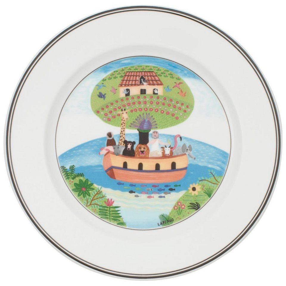 VILLEROY & BOCH Frühstücksteller Arche Noah »Design Naif« in Dekoriert
