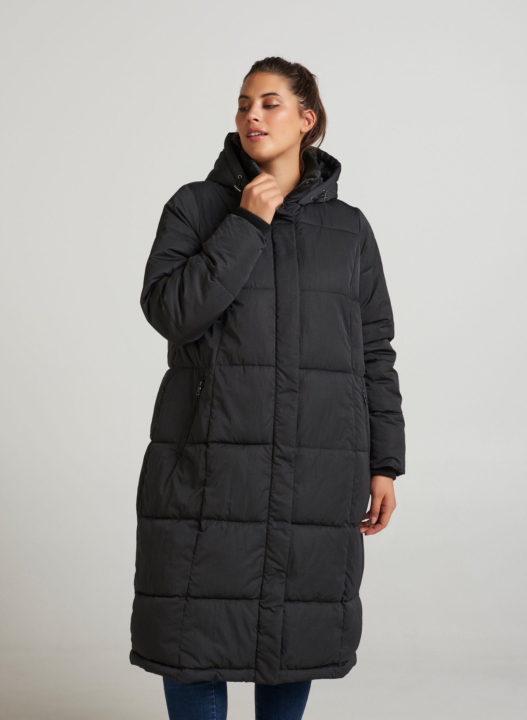 Zizzi Winterjacke Damen Große Größen Wintermantel Kapuze Parka Kapuze Jacke online kaufen | OTTO