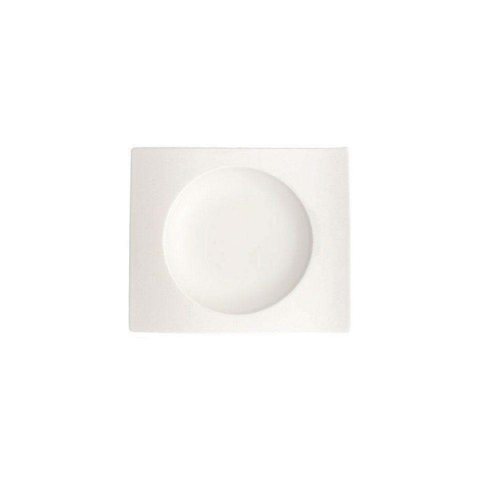 VILLEROY & BOCH Suppen-Untertasse 15cm »NewWave« in Weiss