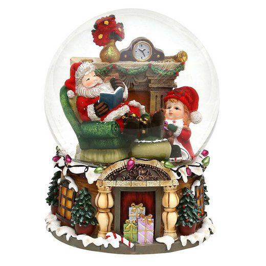 SIGRO Schneekugel XXL »Santa«