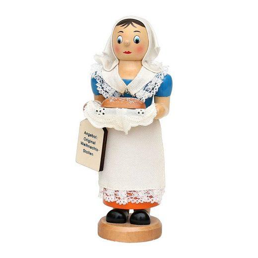 SIGRO Holz Räucherfrau »Stollenfrau«
