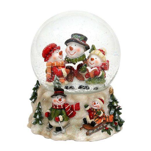 SIGRO Schneekugel »Schneemannfamilie«