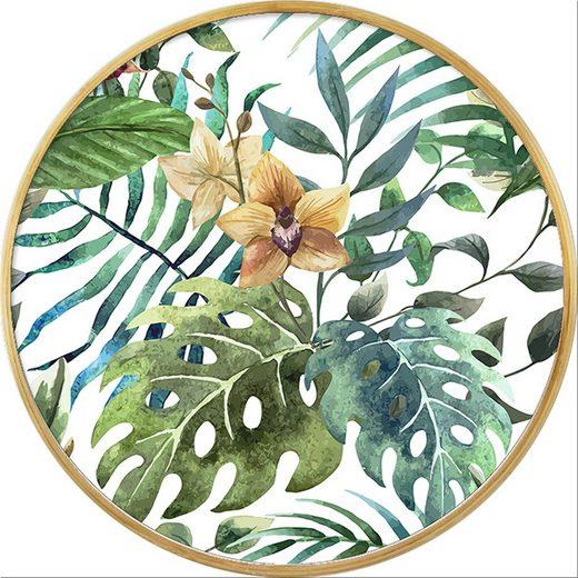 HTI-Line Tablett »Orchidee«