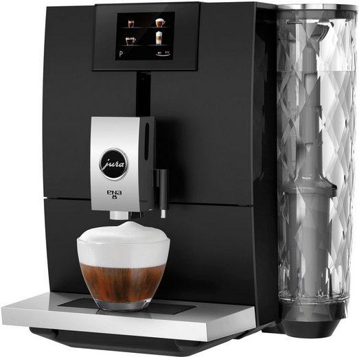 JURA Kaffeevollautomat ENA 8, Full Metropolitan Black