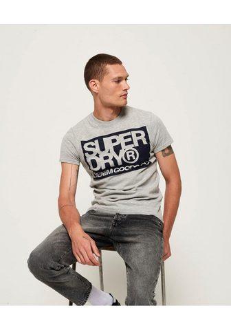 SUPERDRY Marškinėliai »DENIM GOODS CO TEE«