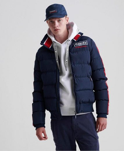 Superdry Steppjacke »ICON SPORTS PUFFER JACKET«