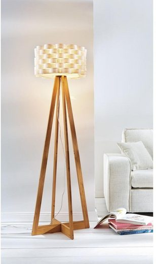 Stehlampe »Flocht«