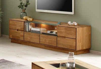 Premium collection by Home affaire TV-Board »Pavo«, 2-türig, inklusive LED Beleuchtung, hochwertiger Fernsehtisch
