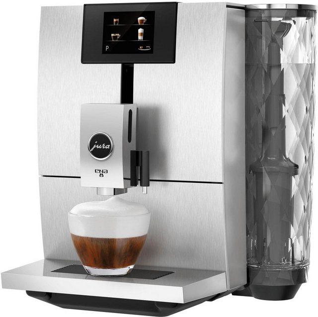 JURA Kaffeevollautomat ENA 8, silberfarben | Küche und Esszimmer > Kaffee und Tee > Kaffeevollautomaten | Jura