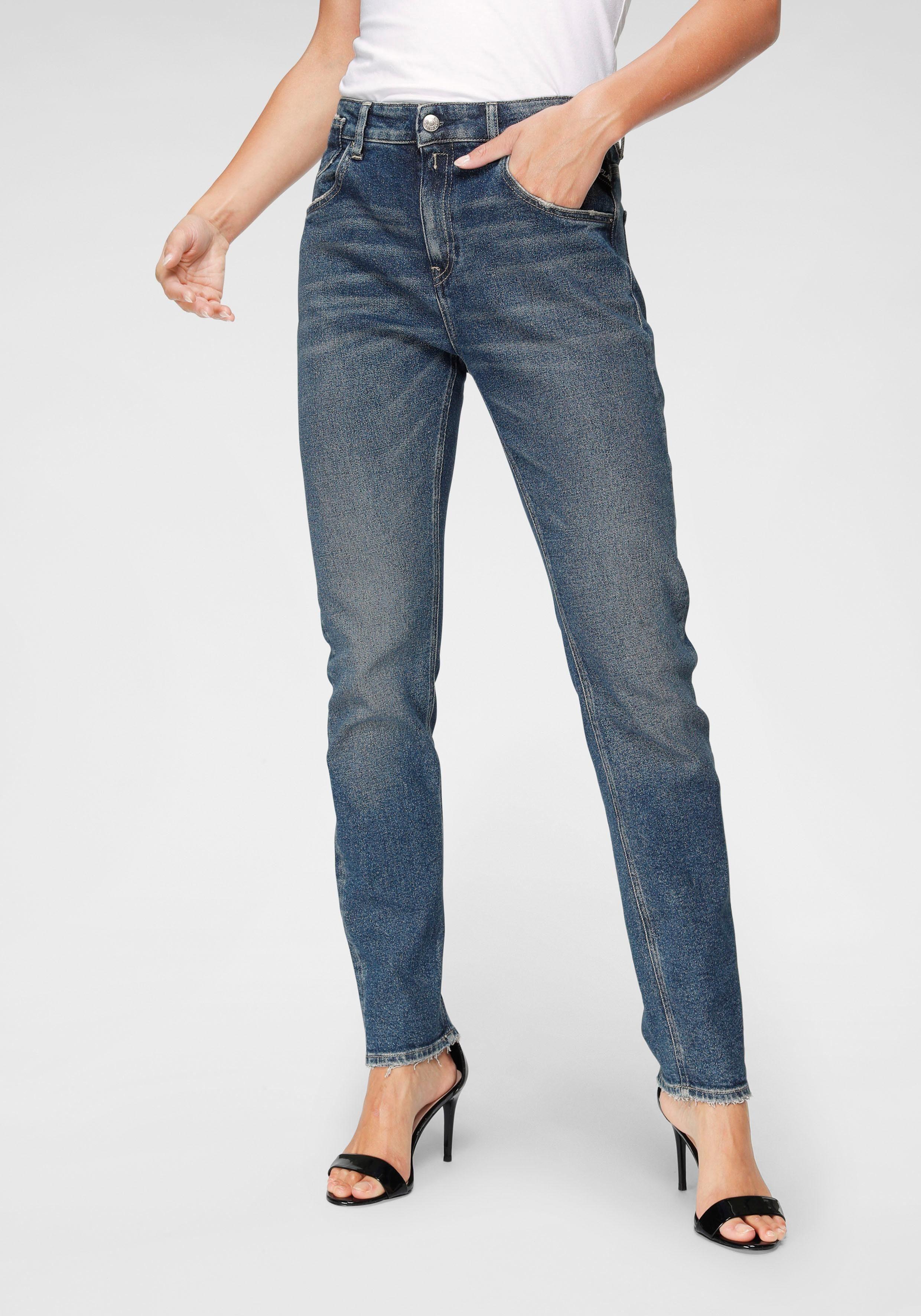 Replay Boyfriend Jeans »MARTY« mit leichten Used Effekten online kaufen | OTTO