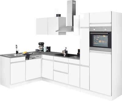OPTIFIT Winkelküche »Roth«, mit E-Geräten, Stellbreite 9 x 9 cm