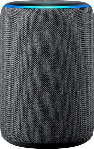 Echo Der neue Echo (3. Gen) Stereo Bluetooth-Lautsprecher (Bluetooth, WLAN (WiFi)