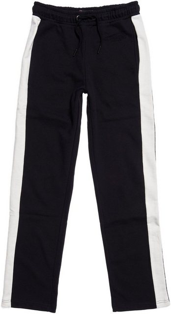 Hosen - Superdry Jogginghose »ROWAN STRAIGHT LEG JOGGERS« mit kleiner Logo Stickerei ›  - Onlineshop OTTO
