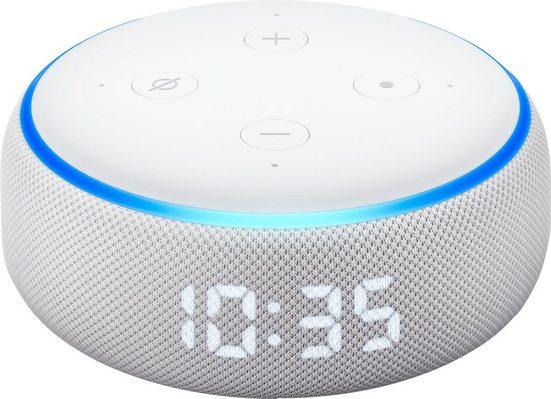 Echo der neue Echo Dot (3. Generation) Bluetooth-Lautsprecher (Bluetooth, WLAN (WiFi), mit Uhr)
