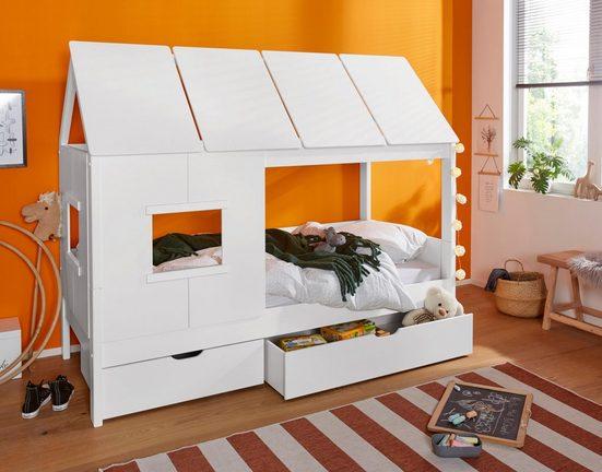 Home affaire Schubkasten »Finn« (Set aus 2 Bettschubkästen)