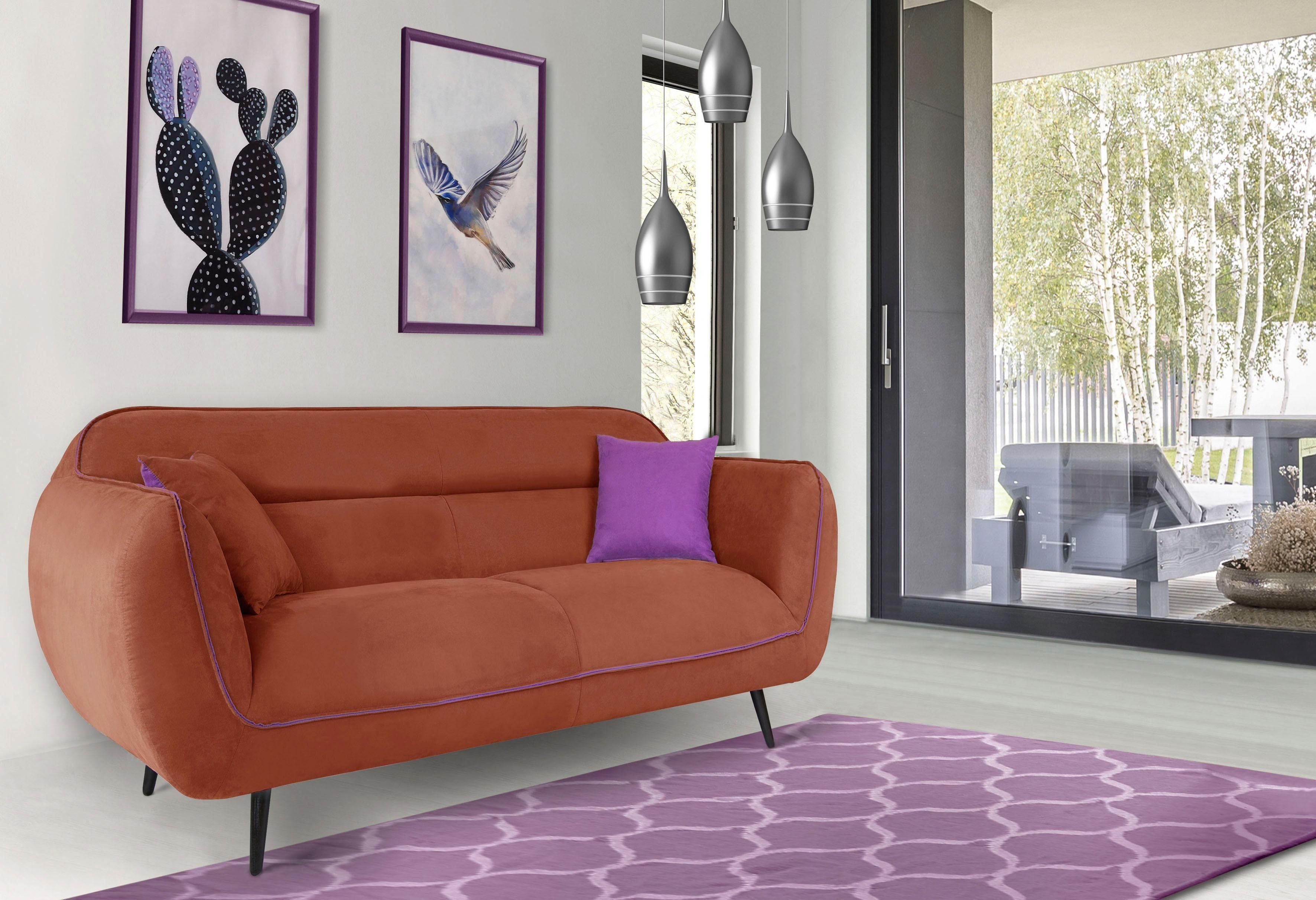 INOSIGN 2 Sitzer »Toscania«, Keder mit abgesetzter Farbe, modernes Design online kaufen | OTTO