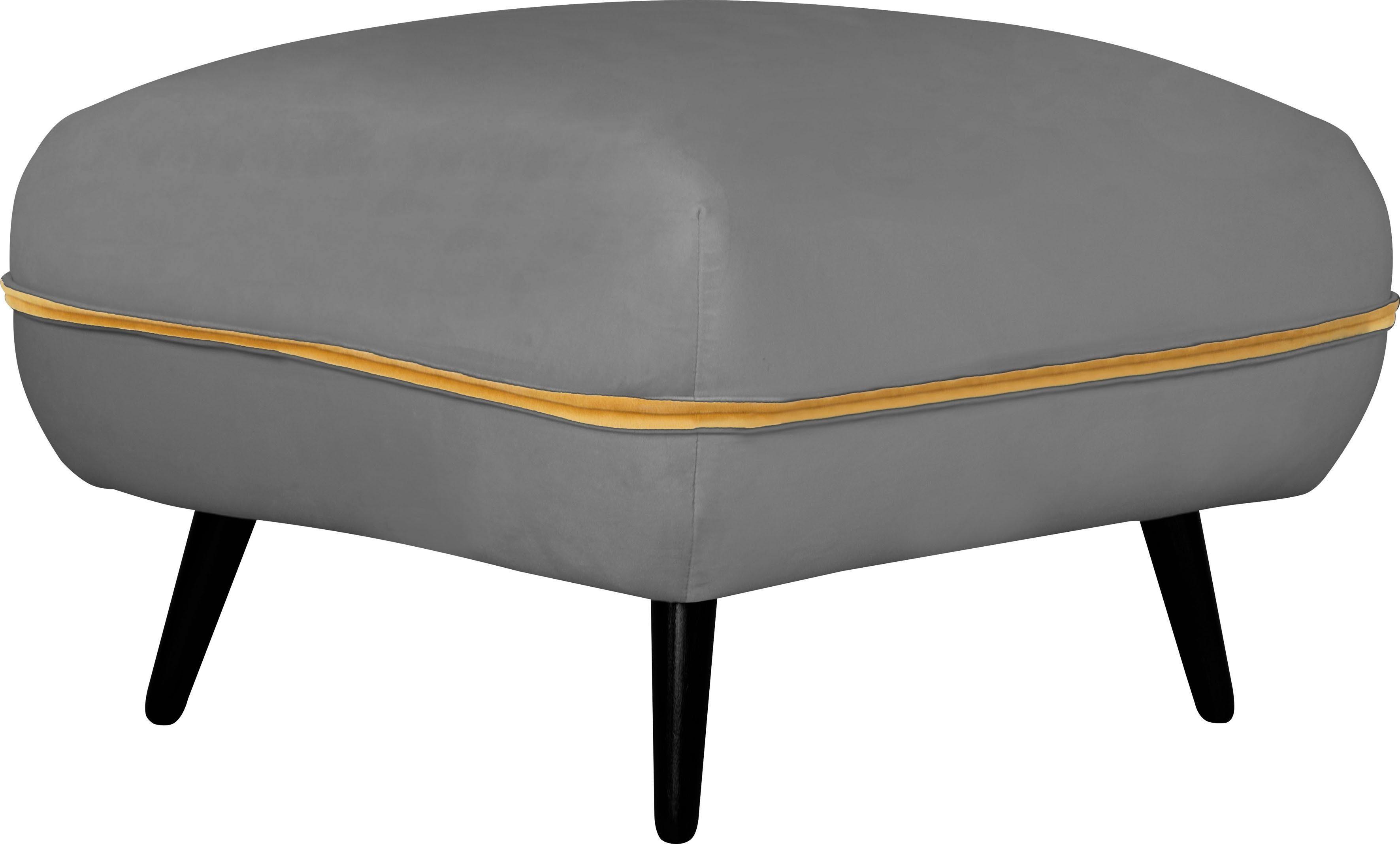 INOSIGN Hocker »Toscania«, Keder mit abgesetzter Farbe, modernes Design online kaufen | OTTO