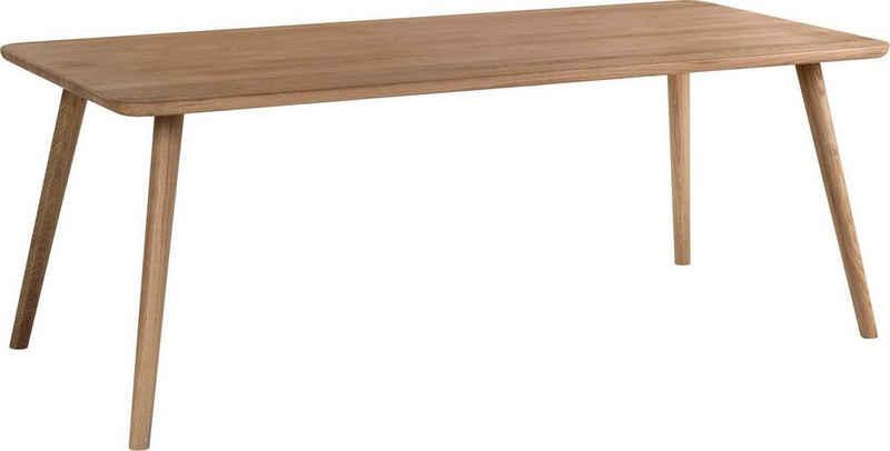 WHITEOAK GROUP Esstisch »Enrik«, aus massivem Eichenholz in hochwertiger Verarbeitung
