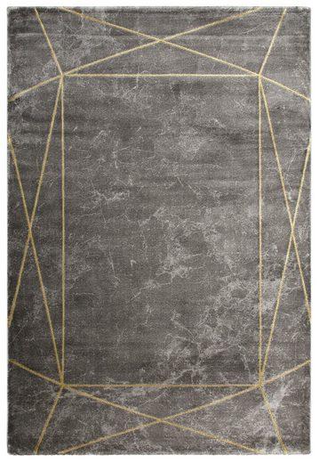 Teppich »Lucie«, Leonique, rechteckig, Höhe 12 mm, moderne Marmor-Optik
