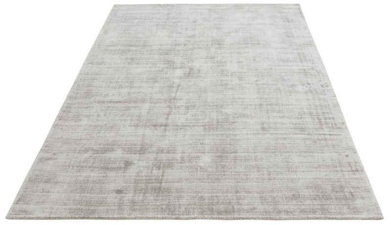 Teppich »Soley«, Leonique, rechteckig, Höhe 12 mm, Seiden-Optik, Wohnzimmer