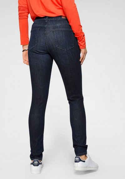 sheego Hose Damen Stretch Jeans Used Look Langgröße Große