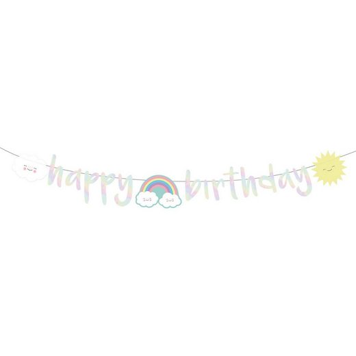 Riethmüller Partykette Rainbow & Cloud 180cm